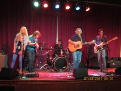 Gæsteoptræden med countryband i Texa