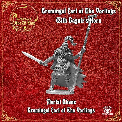 Gremingel Earl of The Vorlings With Gagnir's Horn (MSRP $9.5)