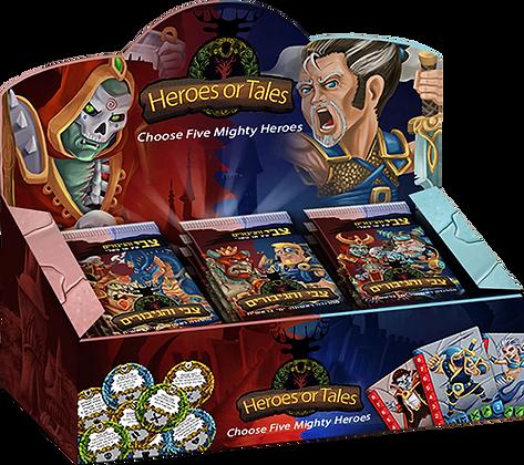 Heroes or Tales Pack (SMRP $60)