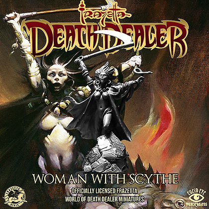 Woman with Scythe (SMRP $17)