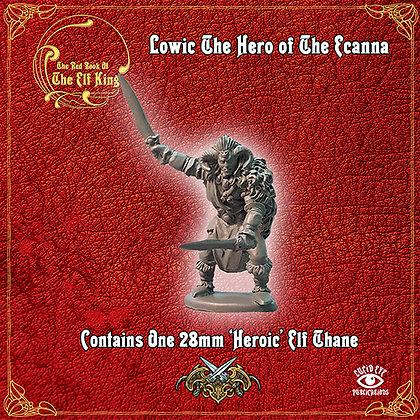 Lowic The Hero of The Ecanna (MSRP $9.5)
