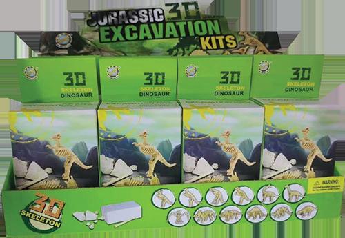 3D Skeleton Dinosaur (SMRP $6)