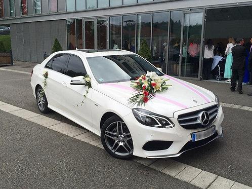 Mercedes E-CLASS Blanc