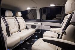 Mercedes V-Class Noir intérieur GENESIS