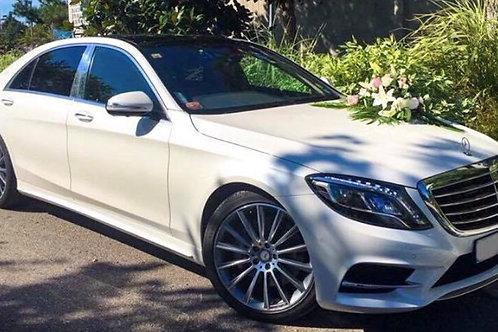 Mercedes S-Class Blanc