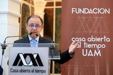 Cóctel de lanzamiento de la Fundación Casa Abierta al Tiempo UAM.  Foto: Archivo UAM-DCS / Alejandro Juárez Gallardo.