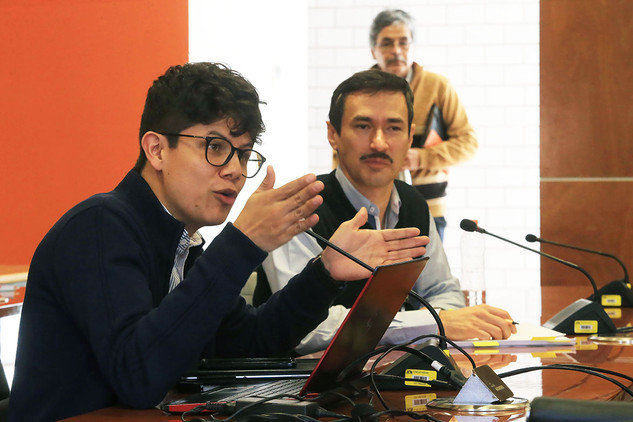 Rodrigo Martínez Martínez y Jesús Octavio Elizondo Martínez
