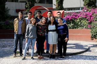 Alumnos que ganaron el 1er. lugar del Hult Prize 2018-2019 con el proyecto DISEC-Cambia.  Foto: Archivo UAM-DCS / Alejandro Juárez Gallardo
