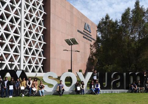 Programa Becas BBVA para Chavos que inspiran de la Fundación BBVA.  Foto: Archivo UAM-DCS / Enrique López Valderrama.