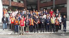 La Universidad Autónoma Metropolitana inauguró la Semana de la Protección Civil.