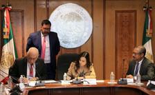 Firma de convenio UAM - Honorable Cámara de Diputados.  Foto: Archivo UAM-DCS / Alejandro Juárez Gallardo.