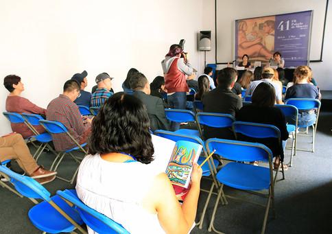 Presentaciones en la Feria Internacional del Libro del Palacio de Minería