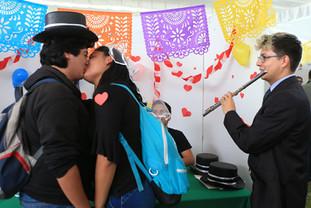Kermés de la salud.  Foto: Archivo UAM-DCS / Alejandro Juárez Gallardo.