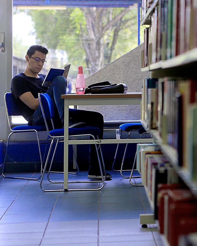 Biblioteca Ramón Villarreal.