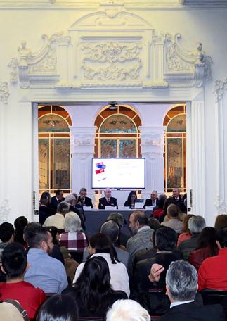 Dr. Romualdo López Zárate, Dr. Hugo Casanova Cardiel, Dr. Jorge Martínez Contreras, Dra. Angélica Buendía Espinosa, Dr. Oscar González Cuevas y Mtro. Bernardo Ruíz López