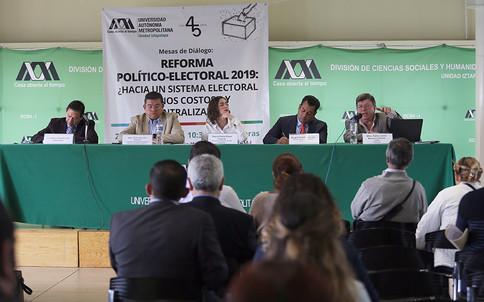 Alfonso Rojas, Pedro Zamudio, Dania Paola Ravel, Sergio Gutiérrez y Pablo Javier Becerra