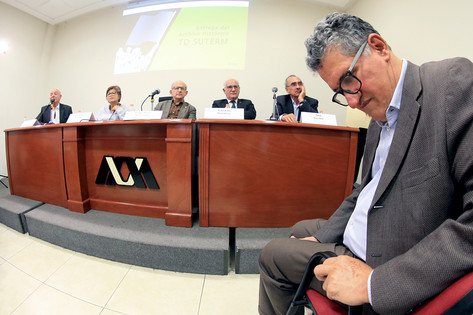 Humberto Gordillo, Carmen Ponce, Diego Prieto, Eduardo Peñalosa y Saúl Escobar