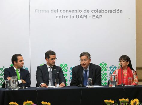 Mtro. Juan José Serrano Mendoza, Dr. Héctor Rafael Arámbula Quiñones, Dr. Fernando de León González y Dra. Claudia Mónica Salazar Villava
