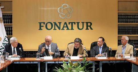 Dr. Javier Velázquez Moctezuma, Eduardo Peñalosa Castro, Arq. Rogelio Jiménez Pons, Dr. Joaquín Flores Méndez y Lic. Alejandro Varela Arrellano