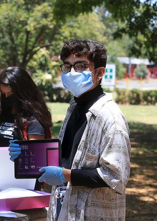 Entrega de becas de apoyo en especie. Proyecto Emergente de Enseñanza Remota. 30_04_2020_UA  Foto: Archivo UAM-DCS / Alejandro Juárez Gallardo.
