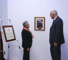 Dra. Rosa María Velasco Belmont y Dr. Eduardo Peñalosa Castro