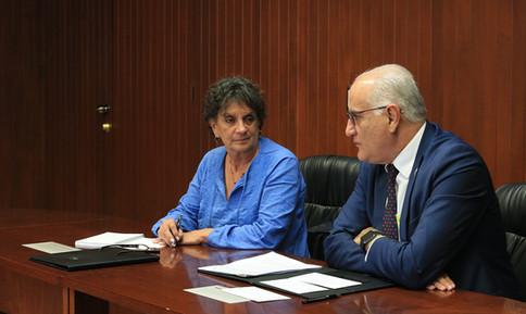 Arq. Myriam Vilma Urzúa Venegas y Dr. Eduardo Peñalosa Castro