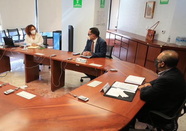 La Defensoría de los Derechos Universitarios de la UAM, a cargo de la Dra. Guadalupe Huacuz Elías, inició actividades formales el pasado 3 de septiembre.   Foto: UAM-DCS/ Alejandro Juárez Gallardo.