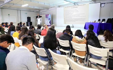 El Rector General de la UAM dictó la conferencia inaugural de la Primera jornada de innovación educativa.  Foto: Archivo UAM-DCS / Alejandro Juárez Gallardo.