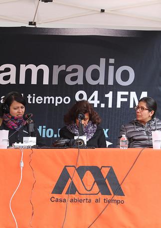 UAM Radio 94.1 FM En vivo desde tu unidad. Transmisión desde la Unidad Cuajimalpa.   Foto: Archivo UAM-DCS / Michaell Rivera Arce.