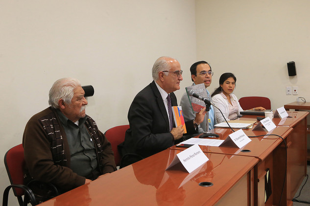Hermilo Pérez, Eduardo Peñalosa, Mario Barbosa y Leny Andrade