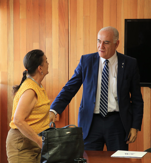 Arq. Myriam Urzúa y Dr. Eduardo Peñalosa