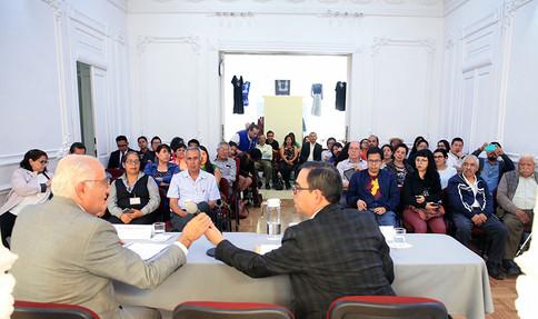 Dr. Eduardo Peñalosa Castro y Dr. Mario Barbosa Cruz.
