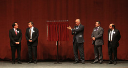 Dr. Rodrigo Díaz Cruz, Dr. Fernando de León González, Dr. Eduardo Peñalosa Castro, Dr. Oscar Lozano Carrillo y Dr. Mariano García Garibay