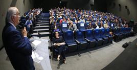 """Premiación y proyección de trabajos participantes en el 8° Festival Metropolitano de Cineminuto """"La Tierra que habitamos"""".    Foto: Archivo UAM-DCS / Alejandro Juárez Gallardo."""