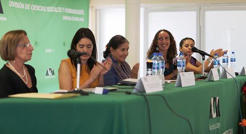 Ana Paula de Teresa Ochoa, Adriana Aguayo Ayala, Alicia Castellanos Guerrero, Giovanna Gasparello y Mariana Mora Miranda