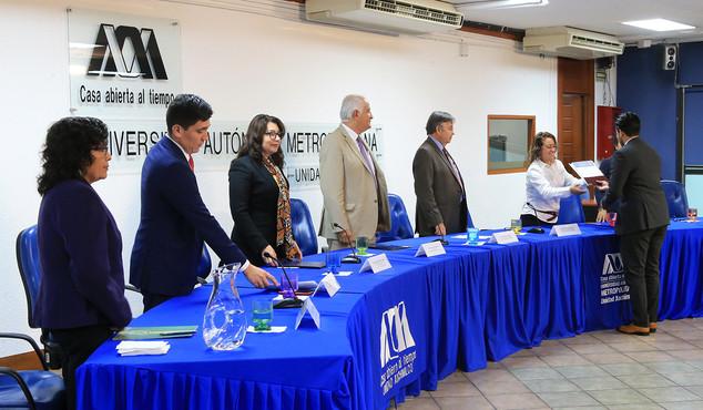 Premio a la Mejor Experiencia en Servicio Social Dr. Ramón Villarreal 2019.  Foto: Archivo UAM-DCS / Alejandro Juárez Gallardo.