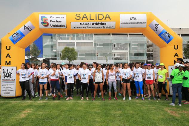 Serial atlético.  Foto: Archivo UAM-DCS / Alejandro Juárez Gallardo