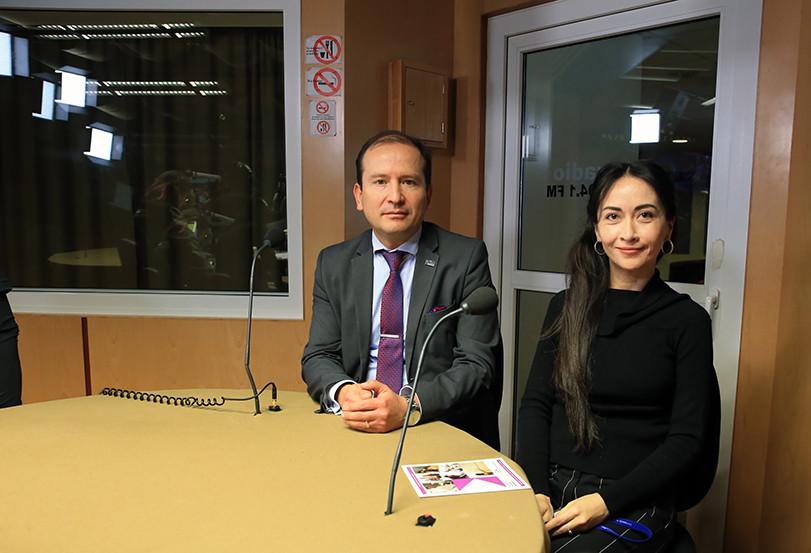 Dr. Gustavo Pacheco López y Dra. Kioko Rubí Guzmán Ramos