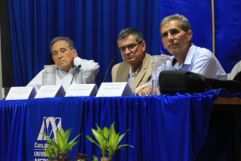 Ing. Miguel Valencia Mulkay, Dr. Jesús David Gómez Díaz  y Dr. Edgar Ocampo Téllez