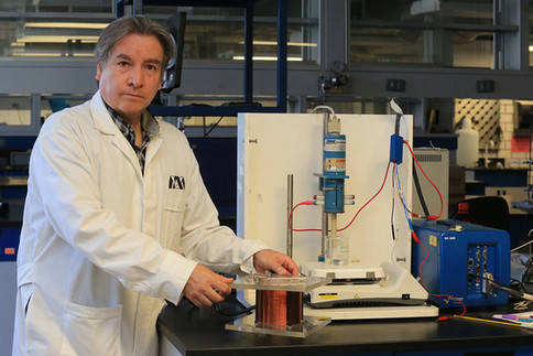 Dr. Manuel Eduardo Palomar Pardavé. Premio Nacional de Electroquímica 2019.