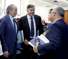 Dr. Darío Salinas, Dr. Fernando de León y Sr. Cristian Morales