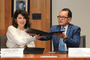Dra. Livia E. Castellanos y Dr. José Antonio De los Reyes Heredia.