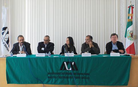 Manuel Larrosa Haro, Enrique Cuna Pérez, Erika Granados Aguilar, Alberto Escamilla Cadena y Pablo Xavier Becerra