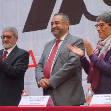 El doctor Oscar Lozano Carrillo tomó posesión como rector de la Unidad Azcapotzalco de la UAM.  Foto: Archivo UAM-DCS / Michaell Rivera Arce.