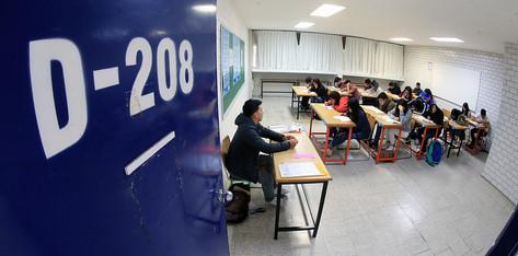 Realizan examen de admisión