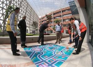 La Universidad Autónoma Metropolitana inauguró la Semana de la Protección Civil.  Foto: Archivo UAM-DCS / Alejandro Juárez Gallardo.