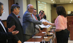 Premio a la Investigación 2019 Vigésimo Octavo Concurso Anual.  Foto: Archivo UAM-DCS / Alejandro Juárez Gallardo.