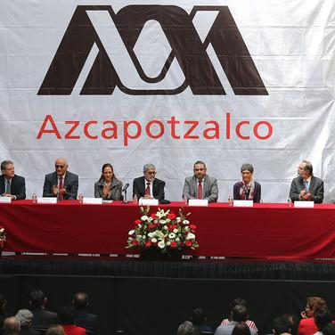 Dr. Juan Ignacio del Cueto, Dr. Eduardo Peñalosa, Mtra. Verónica Arroyo, Dr. Ricardo Tena, Dr. Oscar Lozano, Dra. Sylvie Turpin y Dr. Pedro Moctezuma