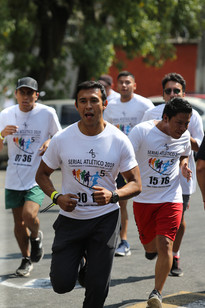 Serial Atlético 2019. Caminando y corriendo por la UAM 45 años.  Foto: Archivo UAM-DCS / Michaell Rivera Arce.