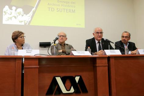 Carmen Ponce, Diego Prieto, Eduardo Peñalosa y Saúl Escobar